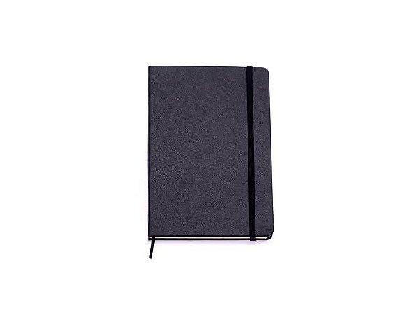 Caderneta Clássica Sem Pauta 14x21 Preta