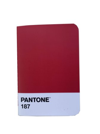 Caderneta Flex Pantone 187