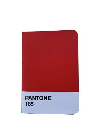 Caderneta Flex Pantone 185