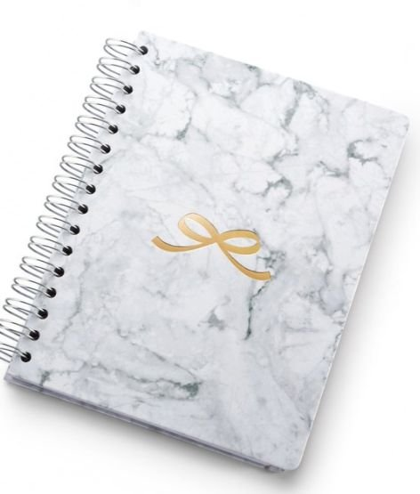 Planner Pink Stone A5 Wire