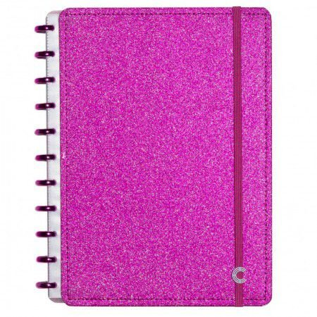 Caderno Inteligente Glitter Pink A5