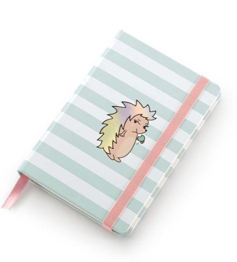 Caderneta Riccio Pocket sem pauta pólen