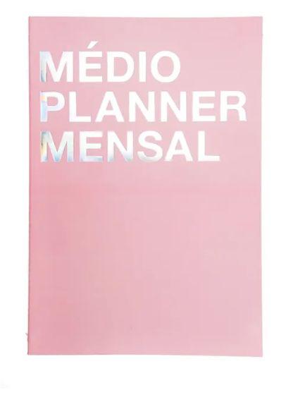 Planner Na Medida Rosa Médio A4