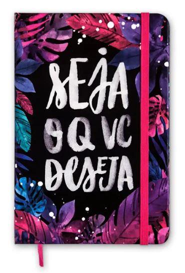 Caderneta Seja o que Deseja Sem Pauta 14x21
