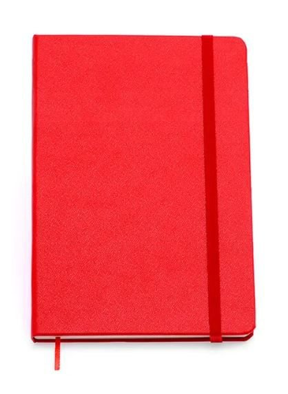 Caderneta Vermelha Classica Sem Pauta 9x13
