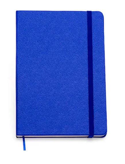 Caderneta Azul Classica Sem Pauta 9x13