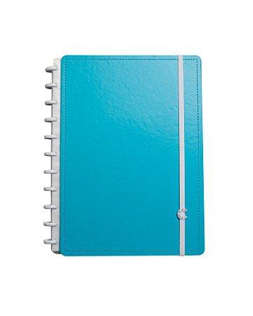 Caderno Inteligente Azul Celeste Grande