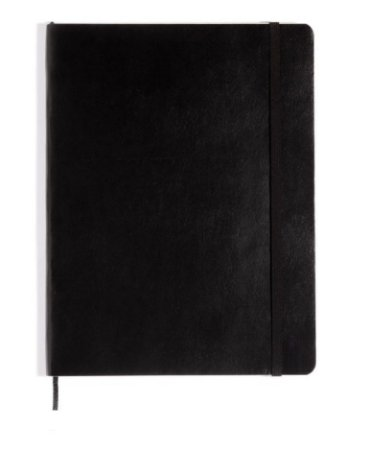 Caderno Revista Classico Preto Sem Pauta