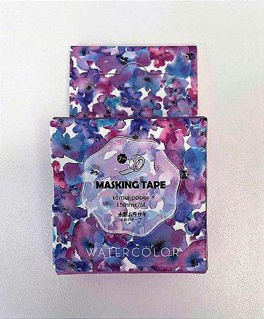 Washi Tape Floral Pastel