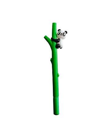 Caneta Panda Bambu Verde Escuro