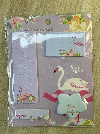 Sticky Notes Flamingo rosa