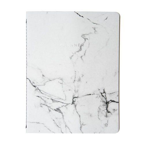 PlannerMensal Marmore 19x25 - Branco