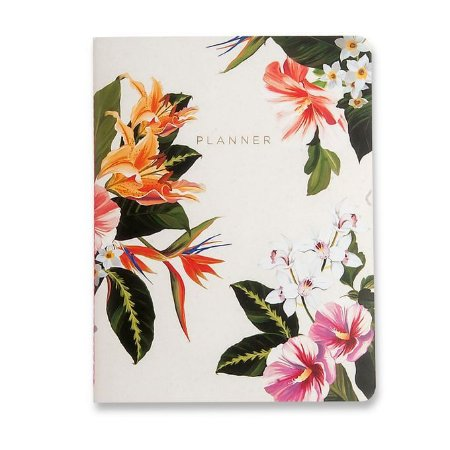 Agenda Planner Mensal Revista Tropical Flora