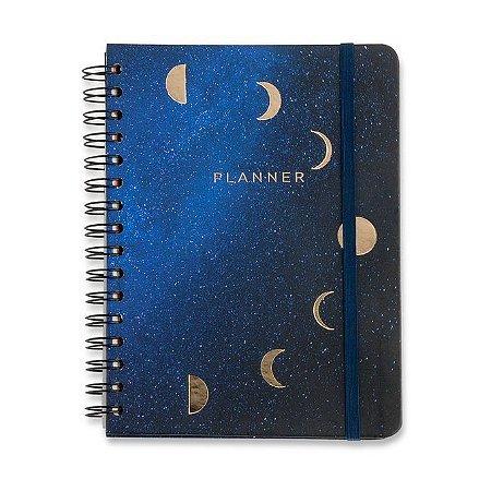 Planner Wire-o Astral - Lua - 14,8x21 - Mensal e Semanal