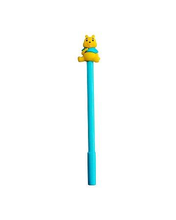 Caneta Ursinho Pooh Azul