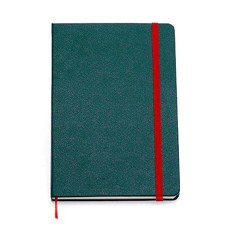 Caderneta Clássica 14x21 - Verde Musgo