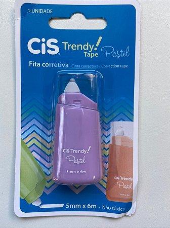 Fita Corretiva Trendy Pastel Cor Lilas