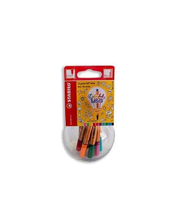 Mini Colorfull Ideias Stabilo Point 88 0,4mm