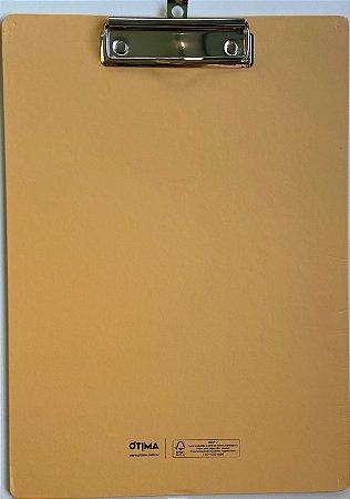 Prancheta Prime A4 Amarela