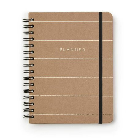 Agenda Planner Completo Kraft Semanal A5