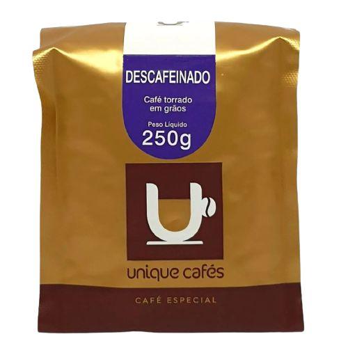 Unique – Café Descafeinado – Grão (250g)