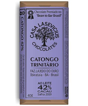 Casa Lasevicius - Catongo Leite BA 42% (40g)