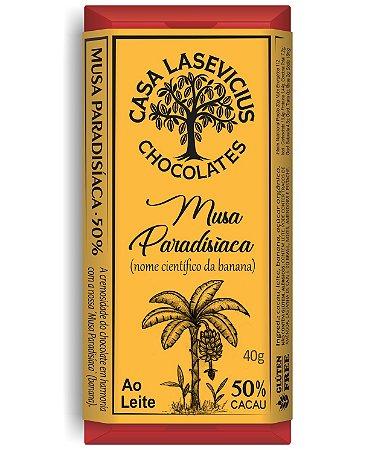 Casa Lasevicius - Musa Ao leite (Banana Passa) (40g)