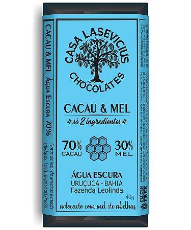 Casa Lasevicius - Cacau & Mel BA 70% (40g)