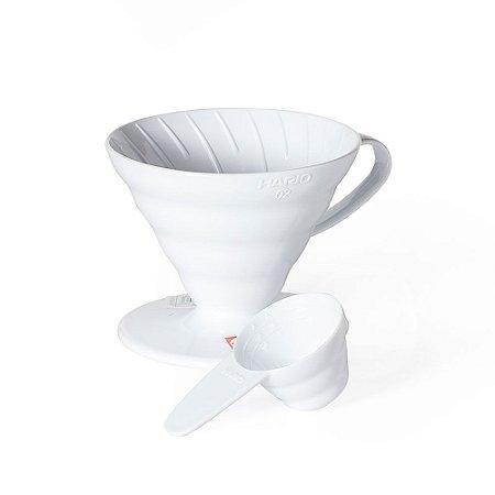 Coador Hario V60 Dripper 02 - Branco