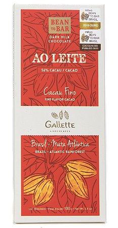 Gallette - Bean to Bar 56% - Dark Milk (100g)