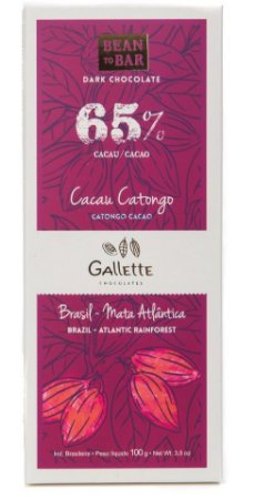 Gallette - Bean to Bar 65% - Catongo (100g)