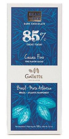 Gallette - Bean to Bar 85% - Xingu (100g)