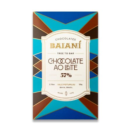 Baianí Tree to Bar - 57% Dark Milk (58g)