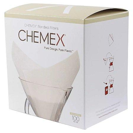 Filtro Quadrado de Papel - Chemex (100 un)
