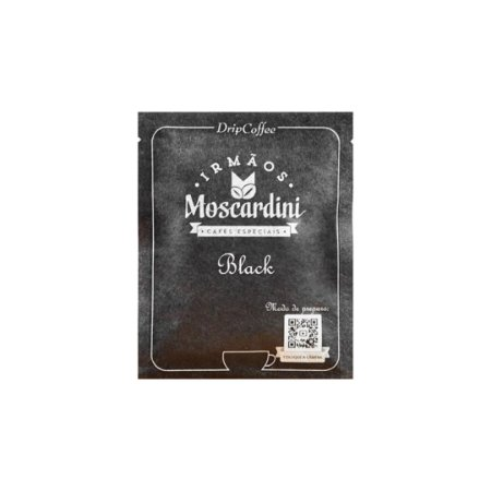 Moscardini  Drip Coffee -  Black (Sachê)