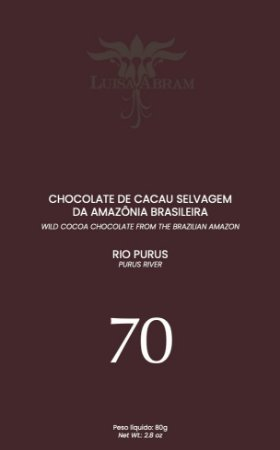 Luisa Abram - Rio Purus 70% Cacau (80g)