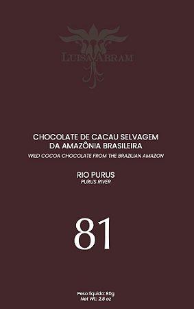 Luisa Abram - Rio Purus 81% Cacau (80g)