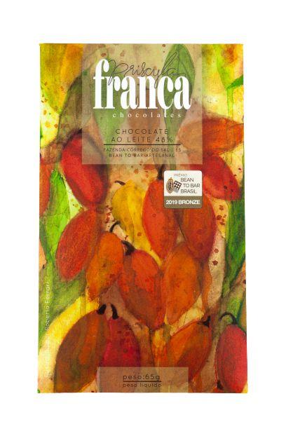 Priscyla França - Ao Leite 48% (65g)
