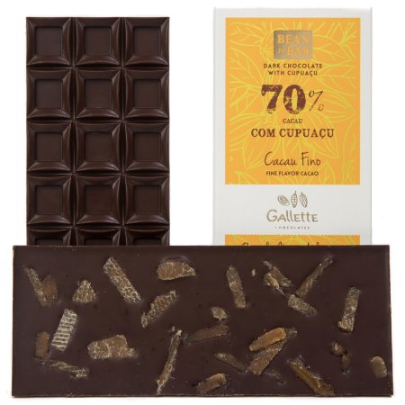 Gallette - Bean to Bar 70% - Cupuaçu (100g)
