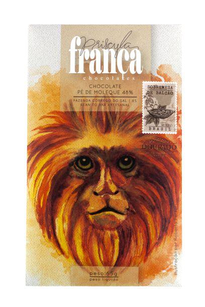 Priscyla França - Pé de Moleque 48% (65g)