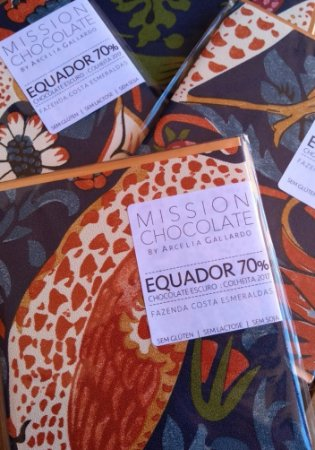 Mission - Equador 70%: Fazenda Costa Esmeraldas (60g)
