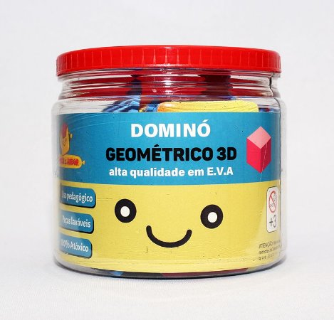 DOMINÓ GEOMÉTRICO 3D | E.V.A