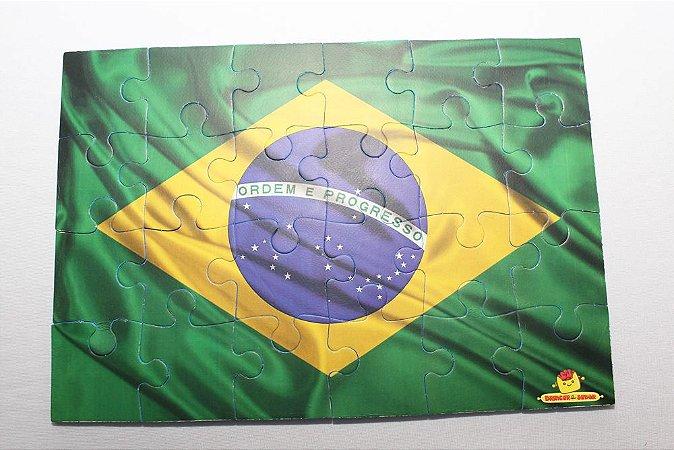 Quebra cabeça Bandeira Brasil 2