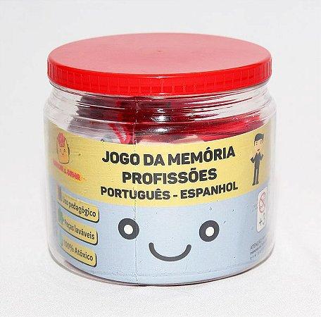 Jogo da memória Português - Espanhol ( profissões 2 )