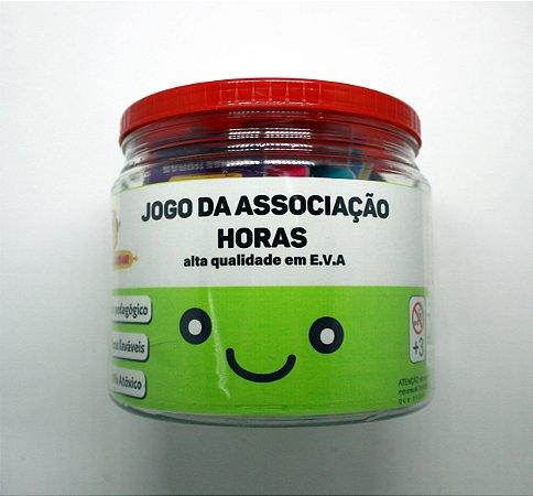 JOGO DE ASSOCIAÇÃO HORAS