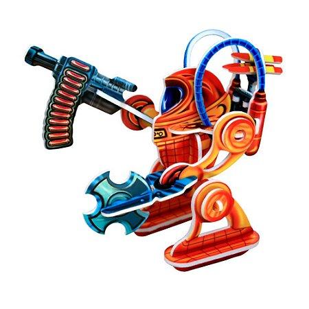 Robô de Ataque em MDF