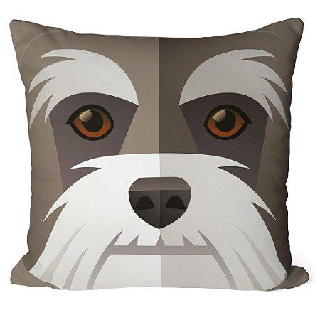 Almofada Cachorro Schnauzer