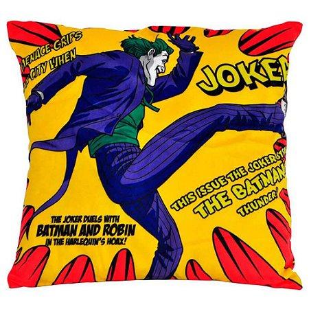 Capa para Almofada Joker Kiking Amarelo 45x45cm
