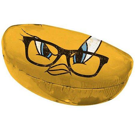 Case Porta Óculos Piu-Piu Big Face em PU