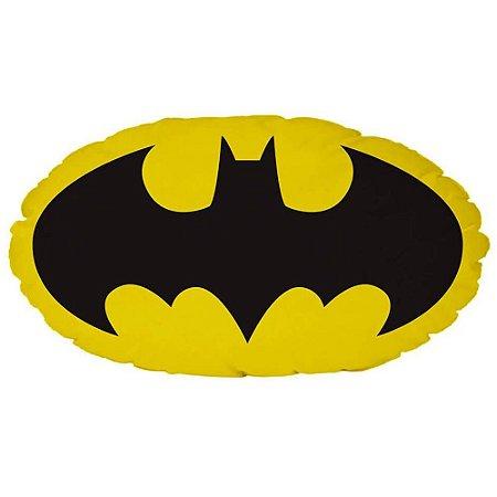 Almofada Batman Logo Amarelo e Preto 50x28cm